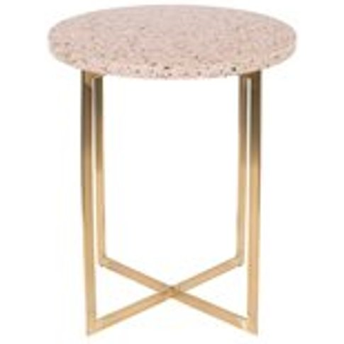 Zuiver Luigi Round Side Table - White
