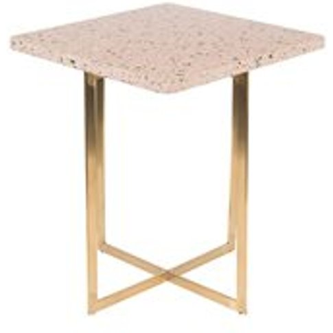 Zuiver Luigi Square Side Table - Green