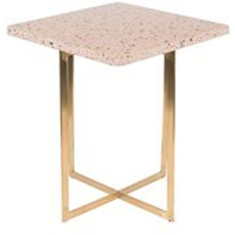 Zuiver Luigi Square Side Table - White