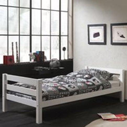 Pino Single Bed  - Grey