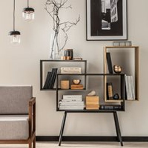 Vox Ribbon Low Bookcase