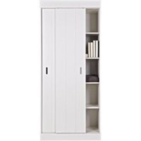Row Cabinet in White by Woood