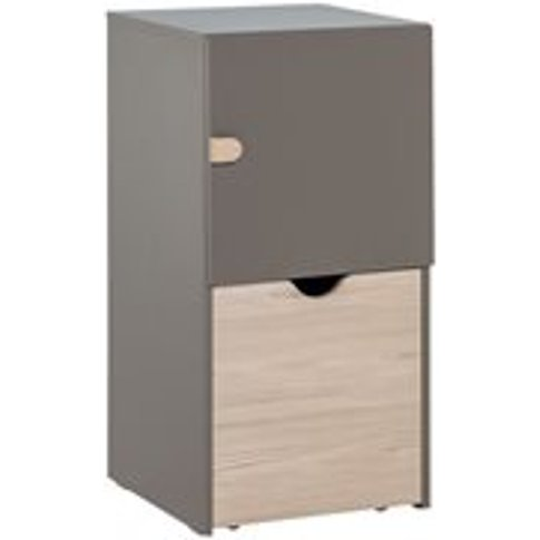 Vox Stige Modular Storage Cabinet With Removable Dra...