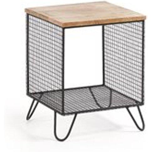 Interni Mango Wood Side Table