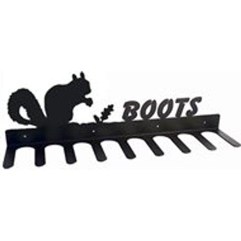 Boot Rack In Squirrel Design - Medium