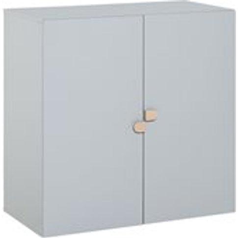 Vox Stige High Modular 2 Door Cabinet in Grey