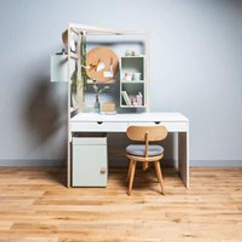 Vox Stige Desk With Wooden Ladder