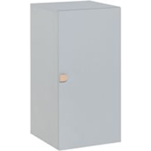 Vox Stige Modular 1 Door Cabinet In Grey
