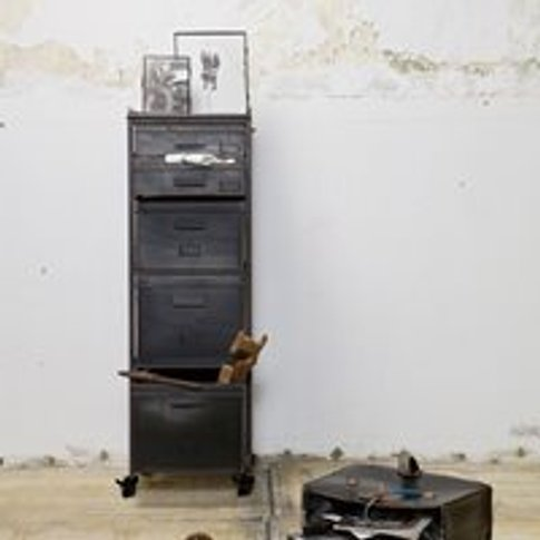 Stuff Metal Cabinet By Bepurehome - Black
