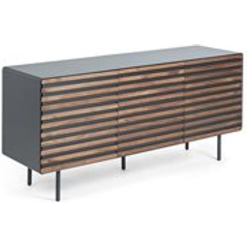 Mahon Large Sideboard In Walnut Veneer