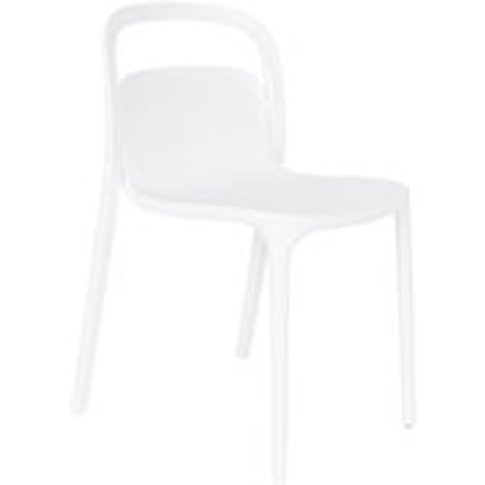 Pair Of Rex Dining Chairs In White