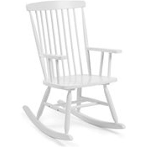 Terence Rocking Chair in White