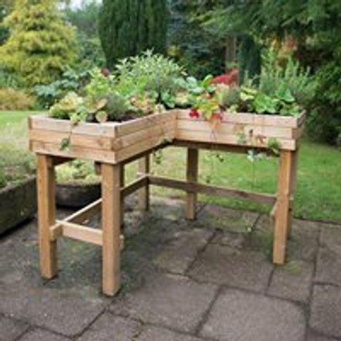 Forest Garden Corner Table Planter