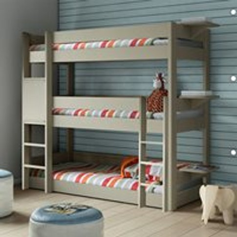 Mathy By Bols Dominique Triple Bunk Bed  - Mathy Pow...