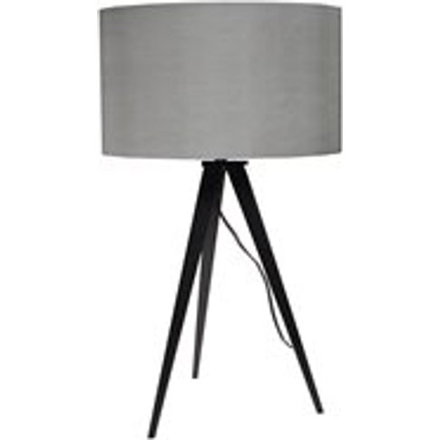 Zuiver Tripod Table Lamp in Black & Grey