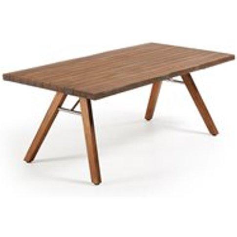 Gus Acacia Wood Dining Table