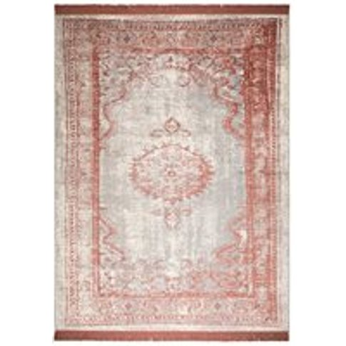 Zuiver Marvel Persian Style Rug in Blush Pink - 170c...
