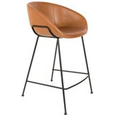 Zuiver Pair Of Feston Counter Stools - Black