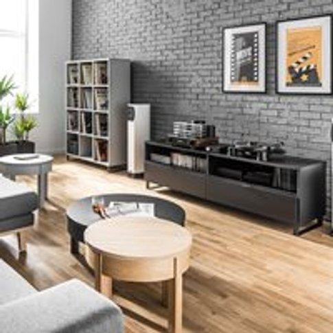 Vox Simple Large Tv Unit - Oak Effect