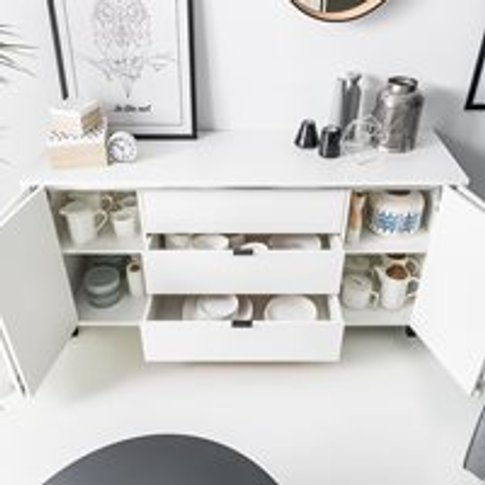 Vox Simple Sideboard - Grey