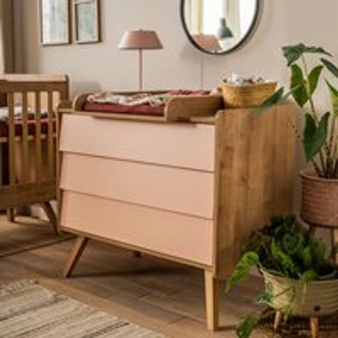 Vox Vintage Chest Of Drawers In A Choice Of Oak Or 5...