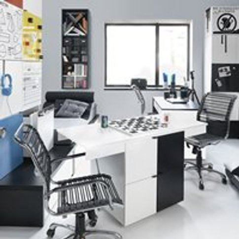 Vox Young Users Eco Transforming Desk in Black and W...