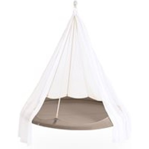 Tiipii Hammock Bed in Taupe - 1.5m - Nomad