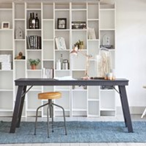 Expand Cabinet & Bookcase With Extension In Contempo...