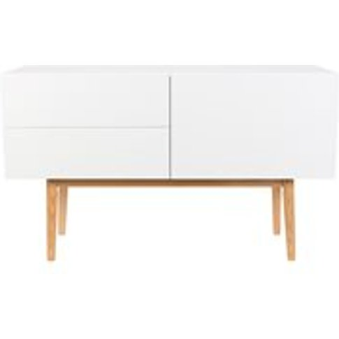 Zuiver High on Wood 2 Drawer & 1 Door Sideboard in W...