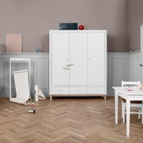 Oliver Furniture Contemporary Wood 3 Door Wardrobe i...