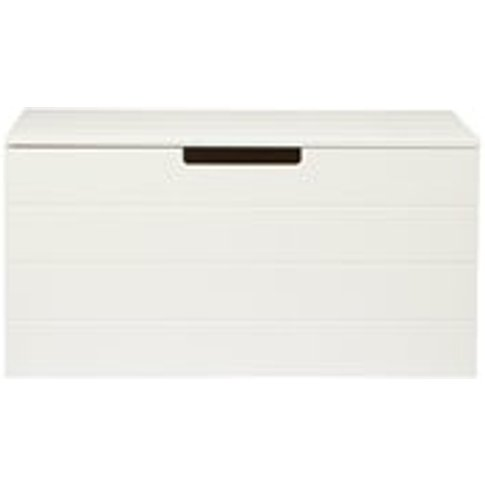 Contemporary Storage Box in White by Woood