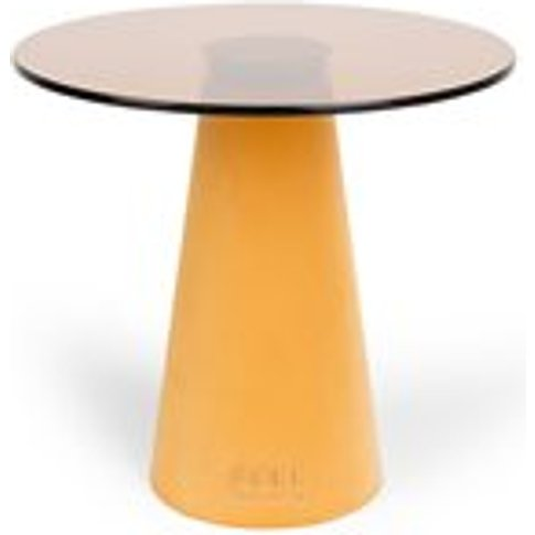 Bold Monkey Leader Of The Fanclub Side Table - Yellow