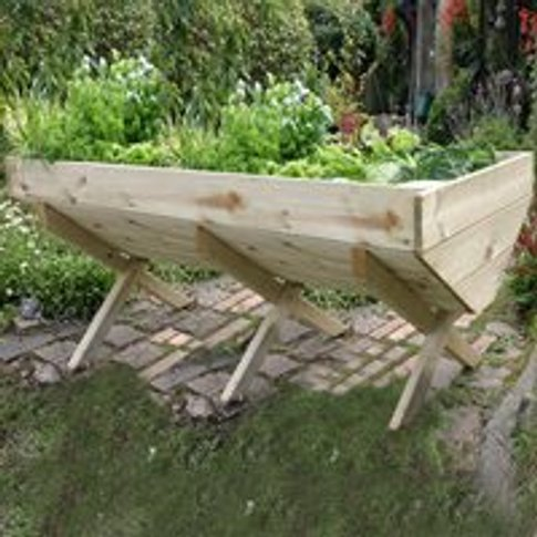 Vegetable Raised Bed 2m Planter