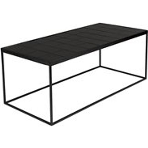 Zuiver Glazed Coffee Table In Black