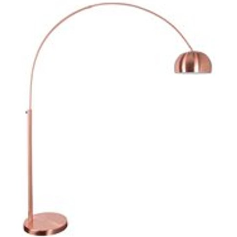 Zuiver Metal Bow Floor Lamp - Copper