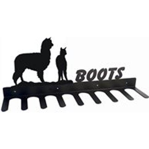Boot Rack In Alpaca Design - Large