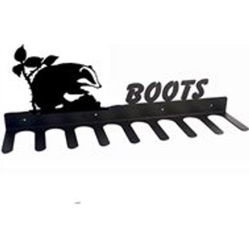 Boot Rack in Badger Design - Medium