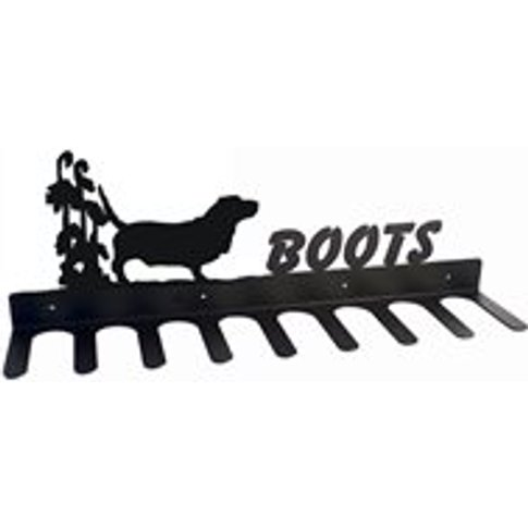 Boot Rack in Basset Hound Design - Large