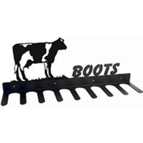 Boot Rack In Buttercup Dairy Cow Design - Medium