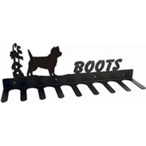 Boot Rack in Cairn Terrier Design - Large