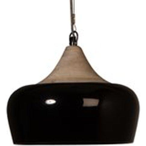 Dutchbone Coco Pendant Lamp in Glossy Black