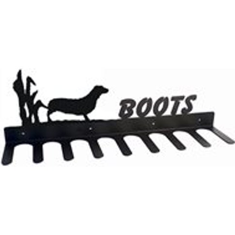 Boot Rack In Dachshund Design - Large