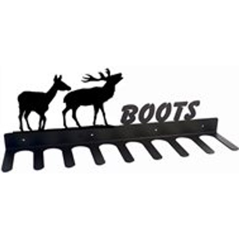 Boot Rack In Pair Of Deer Design - Large