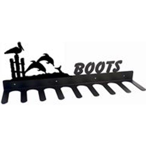 Boot Rack In Dolphin Design - Medium