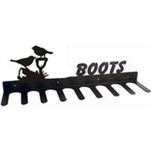 Boot Rack In Friends Bird Design - Medium