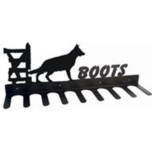 Boot Rack in German Shepherd Design - Large