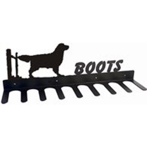 Boot Rack in Golden Retriever Design - Medium