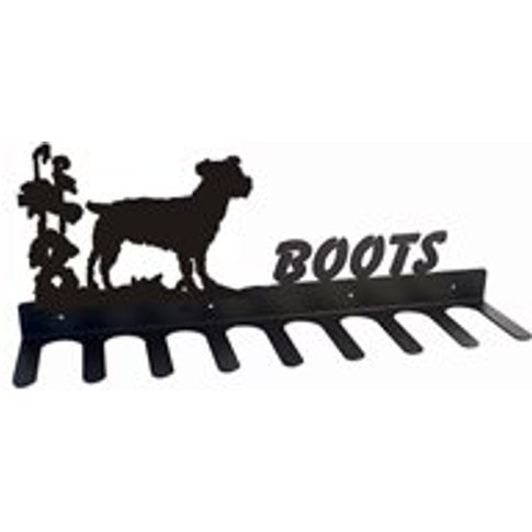 Boot Rack In Jack Russell Design - Large