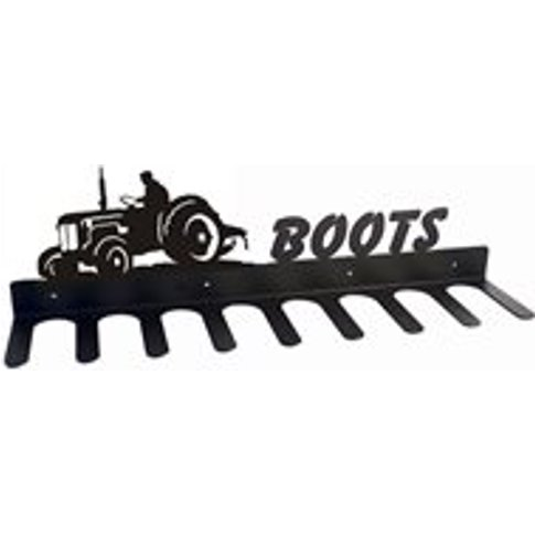 Boot Rack in Little Blue Tractor Design - Large