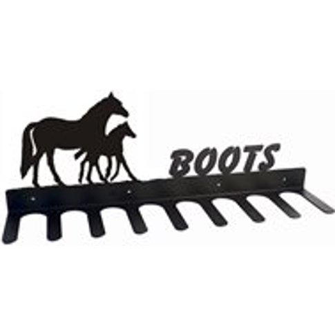 Boot Rack in Mare Foal Horse Design - Large
